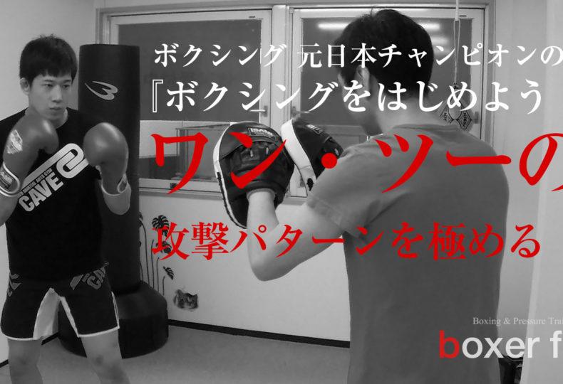ワンツーの攻撃パターンを極める|ボクシングをはじめよう!