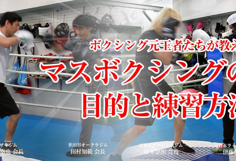 マスボクシングの目的とポイント
