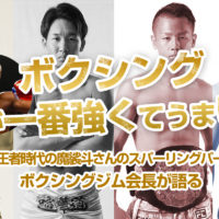 K-1、RIZINのトップ選手でボクシングは一番強くてうまいのは誰?